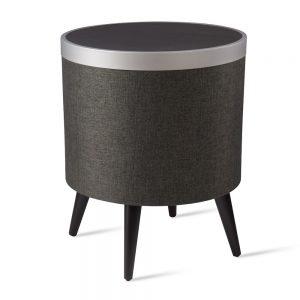 Zain Black - Smart Side Table