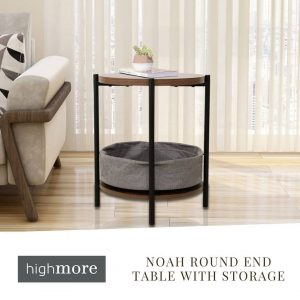 Do you have a corner in your living room that you don't know how to make the most of? How about including this Noah Round End Table with Storage? Its casual look and rounded shape will allow you to add a distinctive touch while keeping your essentials close at hand. 👉https://bit.ly/32wlI5s Free shipping on all products! 📦 . . . . . #beSmartwithKoble#KOBLEDesigns#designs#smartfurniture#home#smarthome#decor#USA#endtable