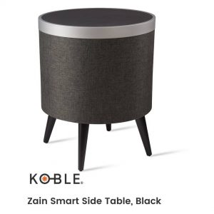 Still don't know all that our additional Zain table can offer you? 🔹Single 360 degree Premium Bluetooth speaker with Subwoofer 🔹Touch sensitive buttons to control music 🔹Wireless charging area 🔹USB charging outlet 🔹Solid wood legs Check out all these features and visit our website here to see the video and more details about the product.👉https://bit.ly/3fLZvrT 🚚 Free Delivery on all orders! . . . . . #beSmartwithKoble#KOBLEDesigns#designs#home#smarthome#decor#USA#homedecor#smartsidetable #blacksidetable #decoration